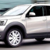 Dacia Duster SUV 2012, recreación