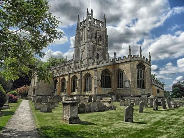 Iglesia Fairford Inglaterra