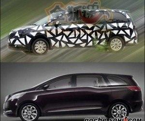 Buick GL8 2011, fotos espía y recreación