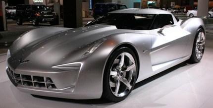 Corvette Stingray 2012 on Chevy Stingray Concept