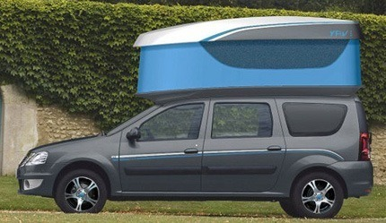 Dacia Young Activity Van III Concept2