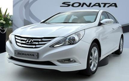 Hyundai Sonata 2010 (i40)