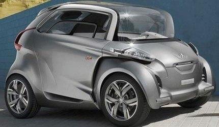 FRANKFURT 2009, Peugeot BB1 Concept y Renault Fluence Z.E. Concept