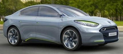Renault Fluence Zero Emission Concept3