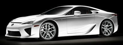 Lexus LF-A chico