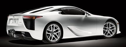 Lexus LF-A chico2