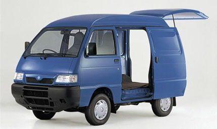Piaggio Porter electric van