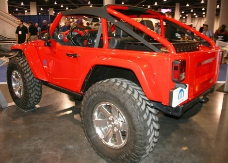 Jeep Lower Forty chico