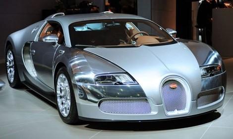 Bugatti Veyron Sang d'Argent chico