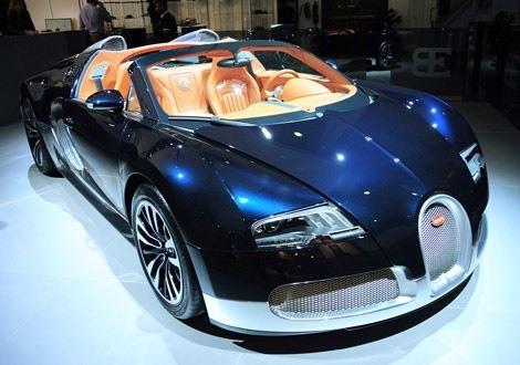 Bugatti Veyron Soleil de Nuit chico