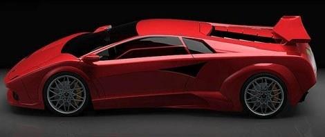 Lamborghini Countach eléctrico chico4