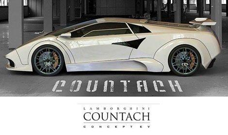 Lamborghini Countach eléctrico chico5