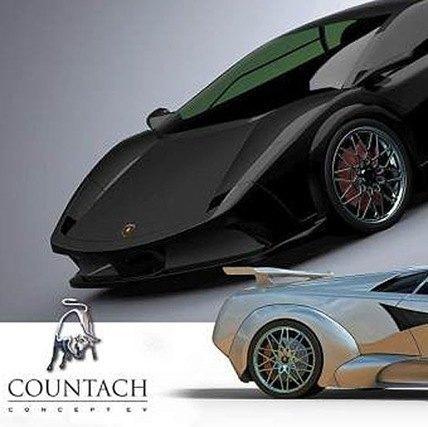 Lamborghini Countach eléctrico chico6