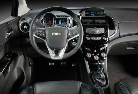 Chevrolet Aveo RS Concept chico