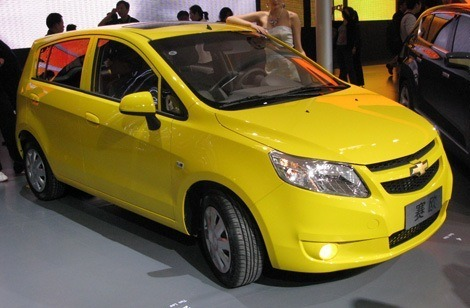 Chevrolet Sail Hatchback chico8