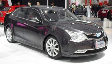 Dongfeng hybrid concept chico