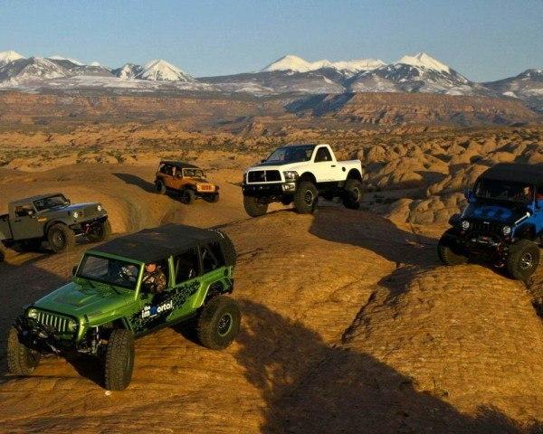 Moab Easter Safari Jeep, el grupo Chrysler y sus ocho prototipos (videos)