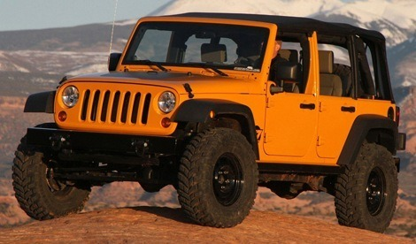 Jeep Wrangler J7 chico