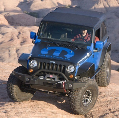 Jeep Wrangler The General chico