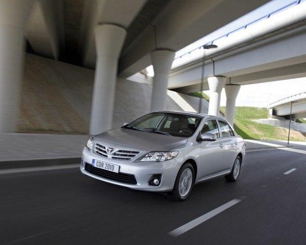 Toyota Corolla Sedan 2011, leves cambios