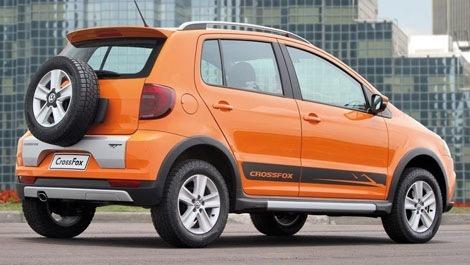 Volkswagen CrossFox 2010 chico2