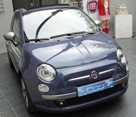 Fiat 500C By DIESEL chico2