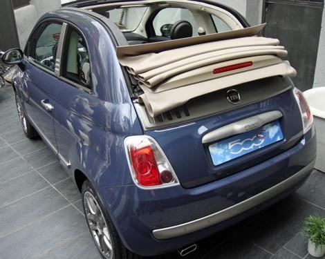 Fiat 500C By DIESEL chico5