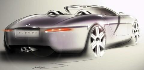 Jaguar f-type boceto02