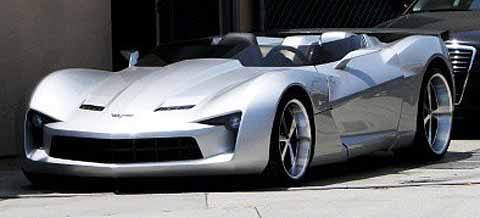 Corvette Stingray 2010 Concept on Chevrolet Corvette Stingray Speedster Concept  Fotos Esp  A