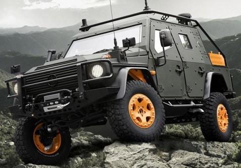 Mercedes-Benz G-Wagon LAPV 6.X Concept chico1