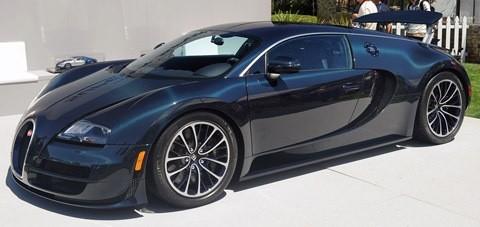 Bugatti Veyron Super Sport chico1