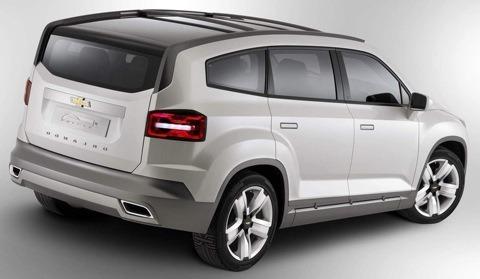 Chevrolet Orlando Concept2