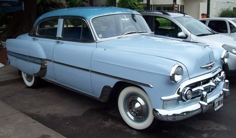 Chevrolet Bel Air 1953, la gran berlina de GM