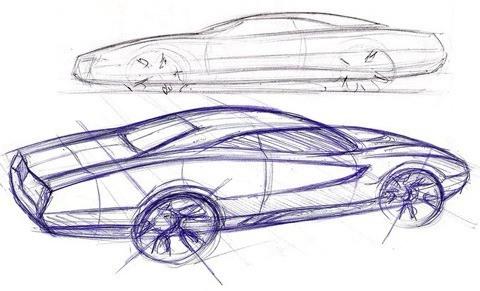Christian Palladino - Proyecto Dodge GTX RT10-bocetos02