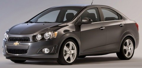 Chevrolet Sonic Sedan 2012-chico