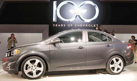 Photo prise lors de l'avant-première pour les médias du Salon de l'auto de Detroit 2011 (North American International Auto Show 2011) présenté à Cobo Center, dans le centre-ville de Detroit.