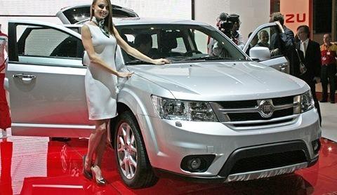 Fiat Freemont 4WD 2012-08