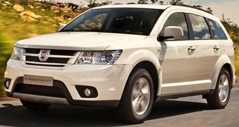 Fiat Freemont 4WD 2012-09
