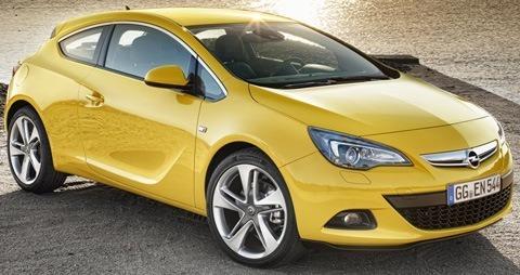 Opel Astra GTC 2012-09