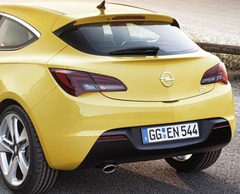 Opel Astra GTC 2012-10