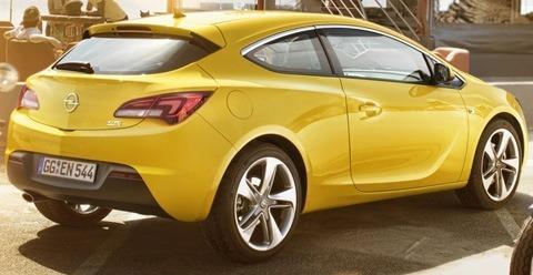 Opel Astra GTC 2012-11
