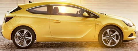 Opel Astra GTC 2012-13