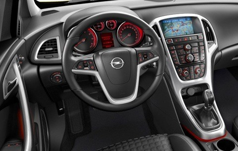 Opel Astra GTC 2012-14