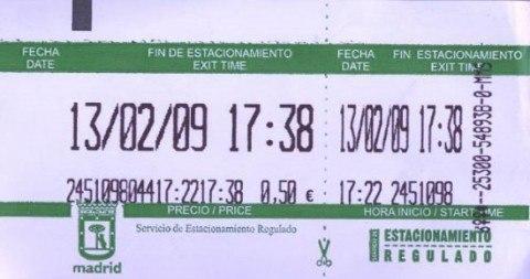 multas de la hora madrid: