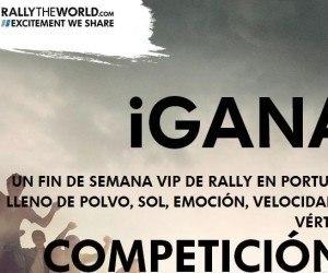 Gana un viaje al Rally de Portugal 2013