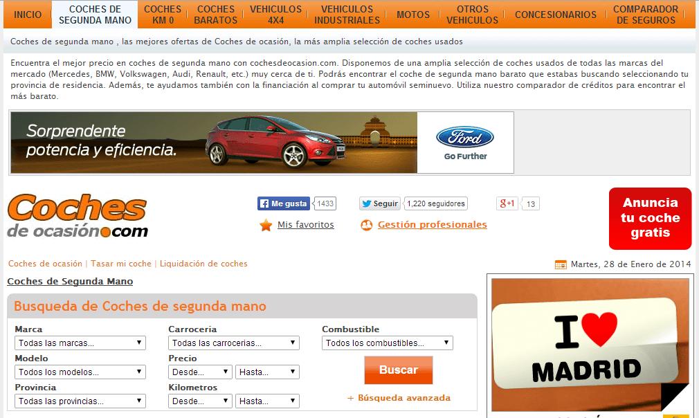 coches de ocasion