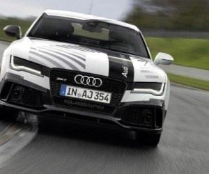 Audi RS7 sin piloto a ritmo de record en Hockenheim