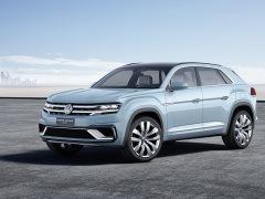 Nuevo Volkswagen Cross Coupé GTE en el salón de Detroit