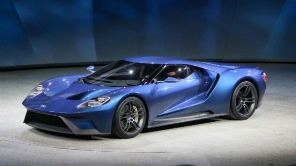 Ford Gt Lateral