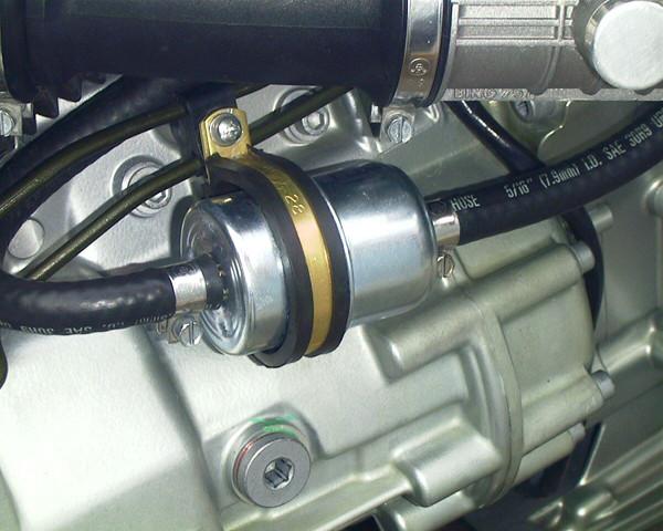 Limpiar cambiar filtro gaolina